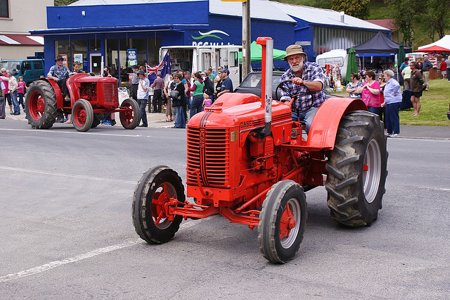 1942 Case Tractor : Case d tractor lawrence central otago held a