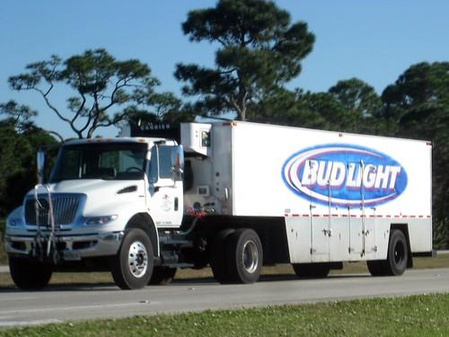 Bud Light International Beverage Truck Formerwmdriver