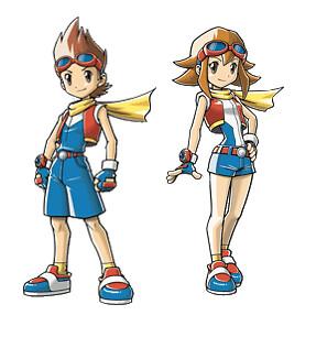 Pokemon ranger tracks of light boy and girl im not sure i flickr pokemon ranger tracks of light boy and girl by crash cortex aloadofball Gallery