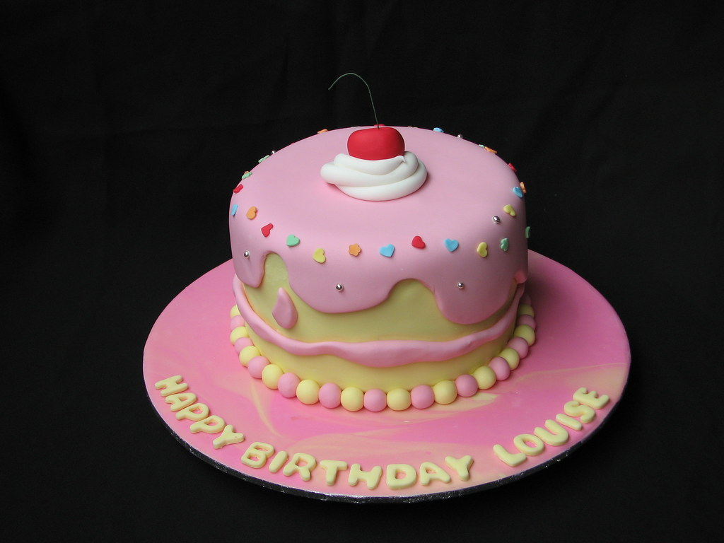 Louise S Birthday Cake I Made This Cake For One Of My