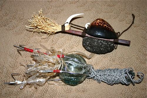 Ancient Hawaii & modern Japanese octopus lures | Replica of … | Flickr