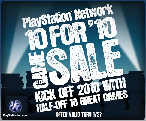 10 For '10 PSN Game Sale! | by PlayStation.Blog