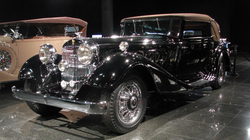 1932 Horch, V-12 Type 670, Sport Cabriolet (1 of 3 existin ...