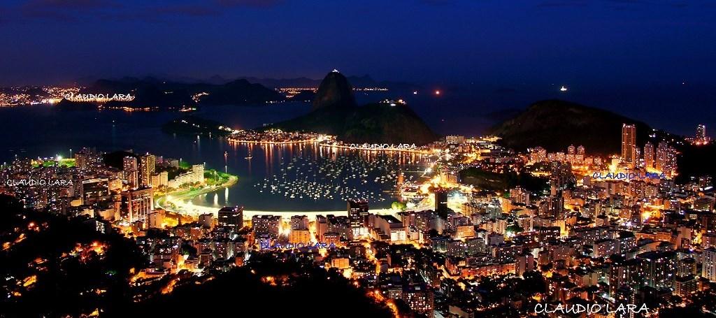 NOITE NO RIO DE JANEIRO - Brasil - Rio de Janeiro #CLAUDIO