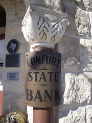 Comfort Bank Sign | by wandering_off