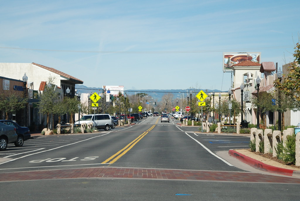 MAIN ST. OLD TOWN NEWHALL, CALIFORNIA | Navymailman | Flickr