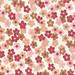 Red & Brown Flower Pattern