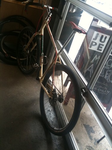 Custom Single Speed 29er with discs | by Hugger Industries