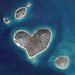 love heart shaped №5 - (island), Galesnjak, Croatia,  just south of Zadar; it is just 1/2 kilometre at its widest point and can only be reached by boat.