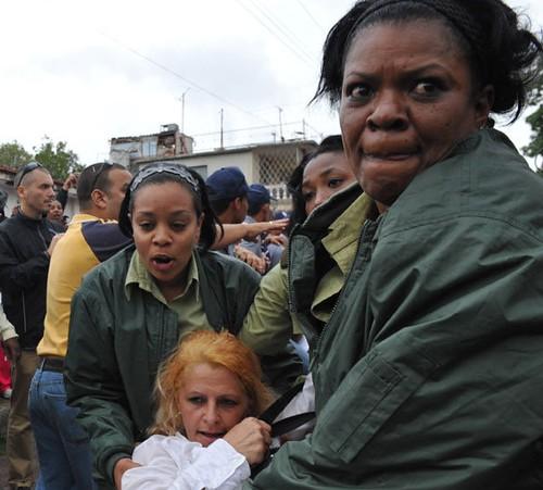 Damas de Blanco, represión