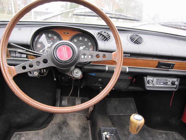 Fiat 850 sport coupe 1972 inside willem s knol flickr - Fiat 850 coupe sport a vendre ...