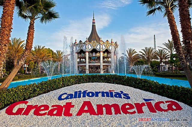 Carousel Columbia   California's Great America, Santa ...