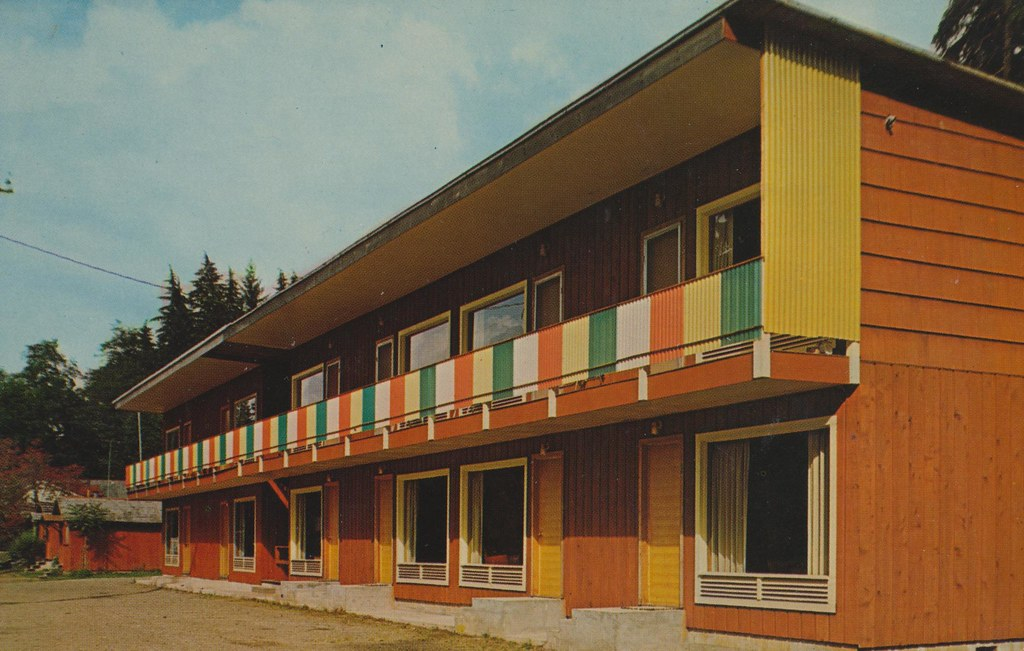 Bergman's Rain Forest Motel - Quinault, Washington