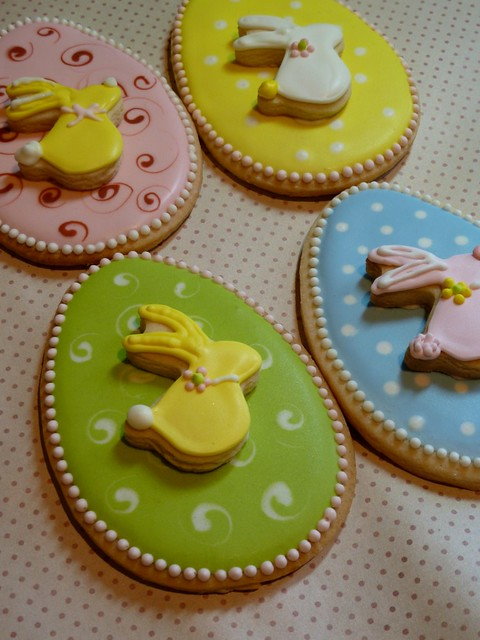 Easter Cookie with Bunny | Cookievonster Designs Feb 2010 ...