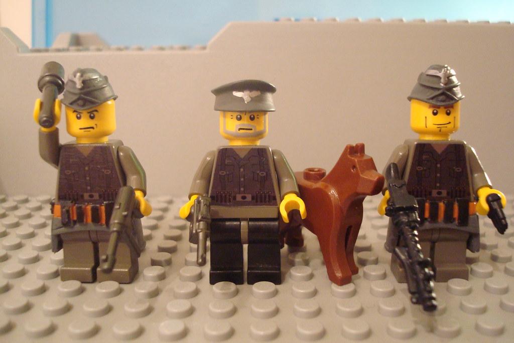 www2 german soliders   mi first Lego custom mini figures   Lakuda's ...