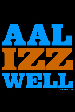 aal izz well For your search query aal izz well mp3 we have found 1000000 songs matching your query but showing only top 10 results now we recommend you to download first.