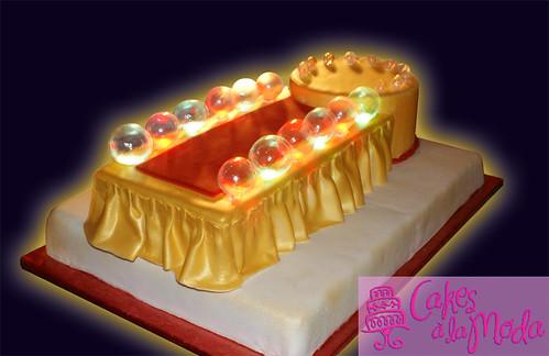 Blown Sugar Balls For Cakes
