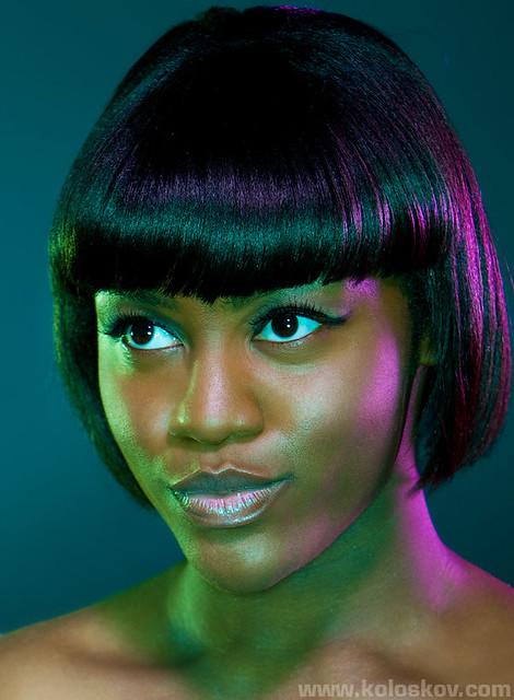 Captivating ... Portrait Photography Lighting Color Gels 5 | By Alex Koloskov