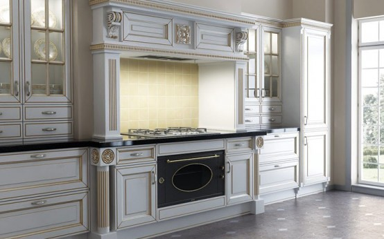 Luxury Classic Kitchen Designs By Giulia Novars 2