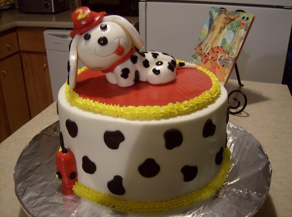 Images Of Homemade Birthday Cake : Firehouse Dog Birthday Cake Firehouse Dog Birthday Cake ...
