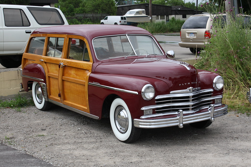 1949 Plymouth Special Deluxe Wagon Richard Spiegelman