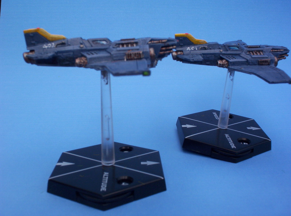 CoolMiniOrNot - Tau Base (Aeronautica Imperialis) by Shi Vral