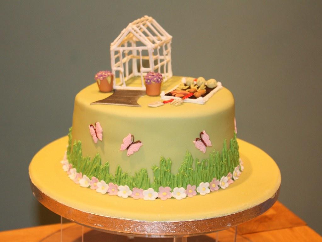Gardening Cake Decorations Uk
