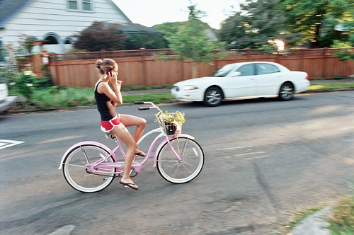 Your friendly neighborhood summer-evening pink-cruiser velocouture | by Patrick Barber