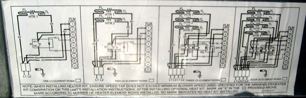 hvac heat strips wiring diagram flickr. Black Bedroom Furniture Sets. Home Design Ideas