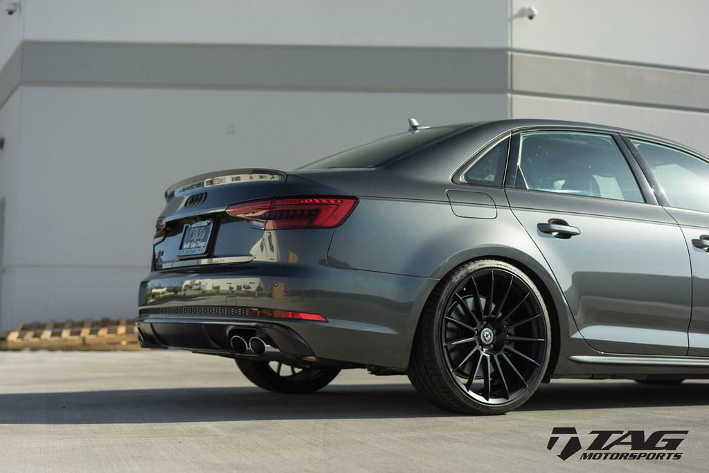 Hre Wheels Audi B9 S4 With Flowform Ff15 Wheels In