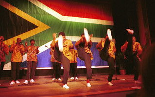 Ladysmith Black Mambazo from South Africa with Joseph Shabalala in Philadelphia Jan 1997 004 | by photographer695