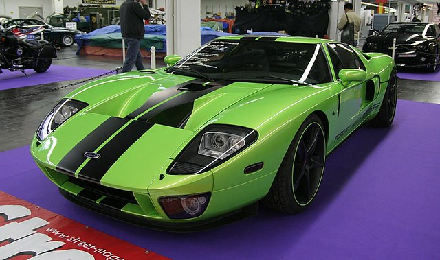 Ems Ford Gt Green By Fine Cars