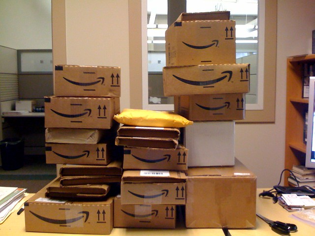 cartons Amazon Penguin Random House