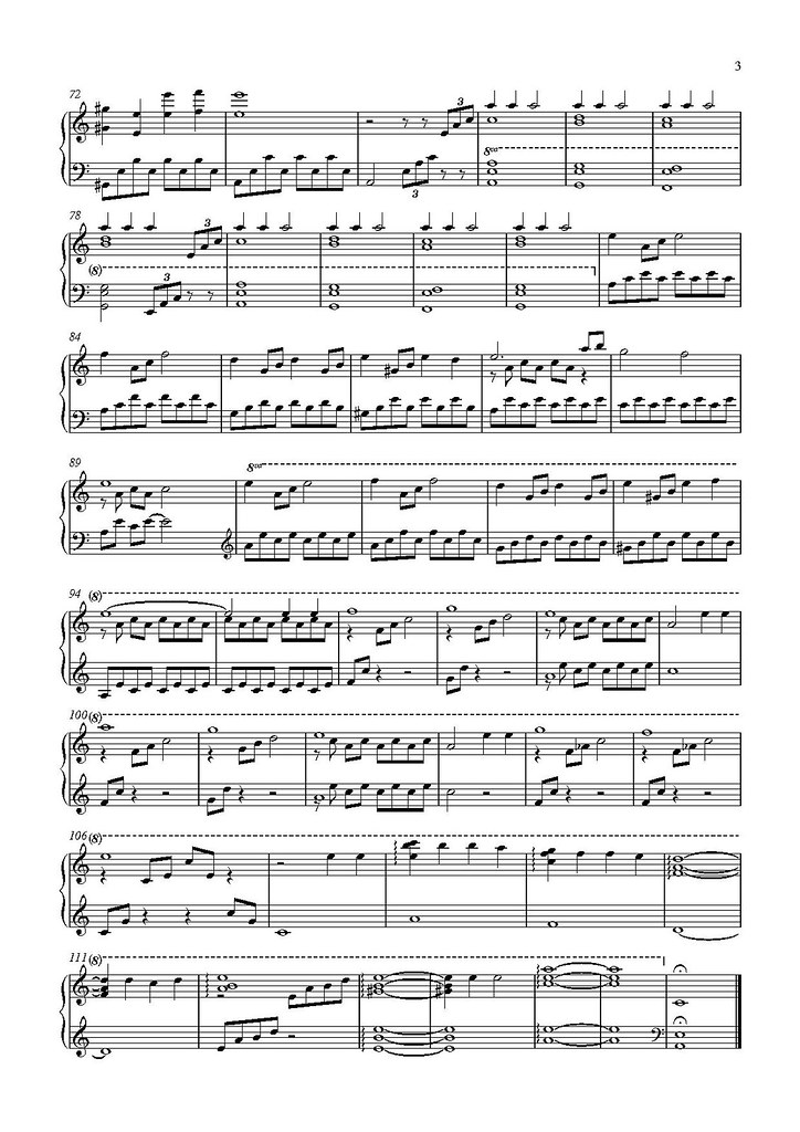 Download new moon (the meadow) piano sheet music by robert.
