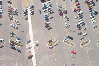 Flying over Denver Parking lot | by halseike