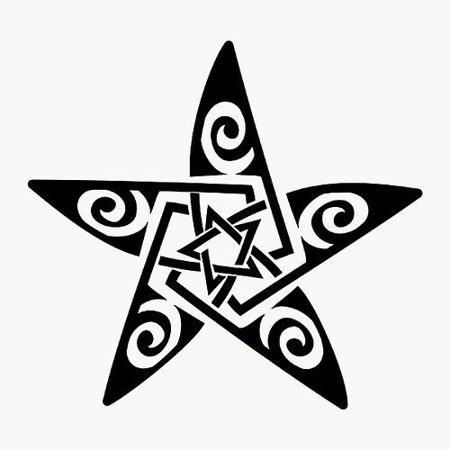 Maori Celtic Star Tattoo Juan David Navarro Sossa Flickr