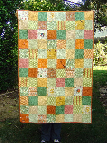 Dots & Critters Baby Quilt | by alissahcarlton