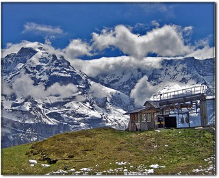 - Switzerland .The Jungfrau mountain...What I have seen on the way to Schilthorn June 6, 2007-  (2969) | by Izakigur
