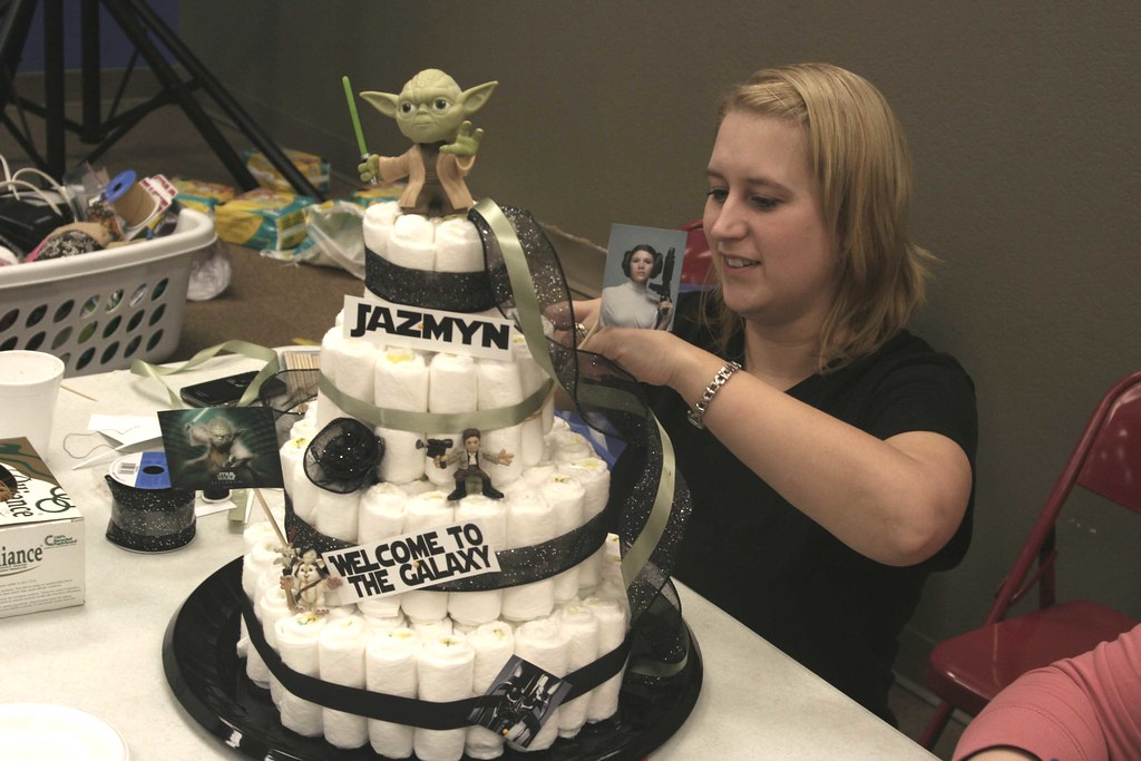 ... StarWars Diaper Cake | By Just Mandy : )