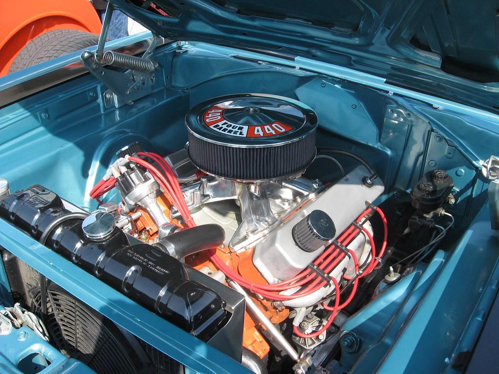 1969 Roadrunner 440 Engine The Image