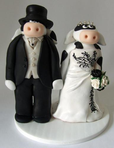 Hunter Cake Toppers For Weddings