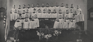 Vested Choir of the Grandview Heights Congregational Church, 1917 | by UA Archives | Upper Arlington History