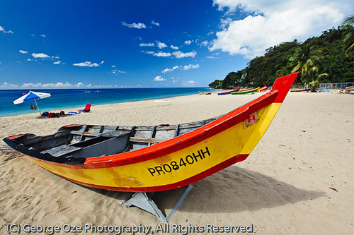 Close Up View Of A Boat On Crashboat Beach Aguadilla Pue Flickr