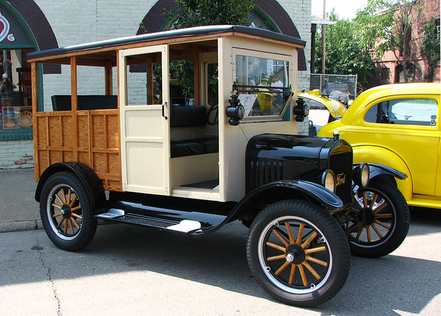 Owner Ford Com >> 1921 Ford Model T Depot Hack | The owner built the body from… | Flickr