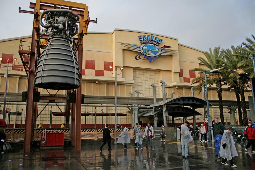 Soarin Over California Disneyland Anaheim California U
