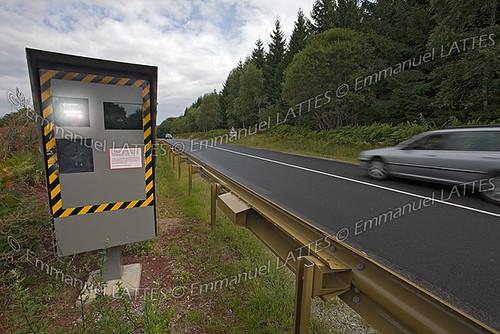 radar automatique sur une route de france puy de d me 63 flickr. Black Bedroom Furniture Sets. Home Design Ideas