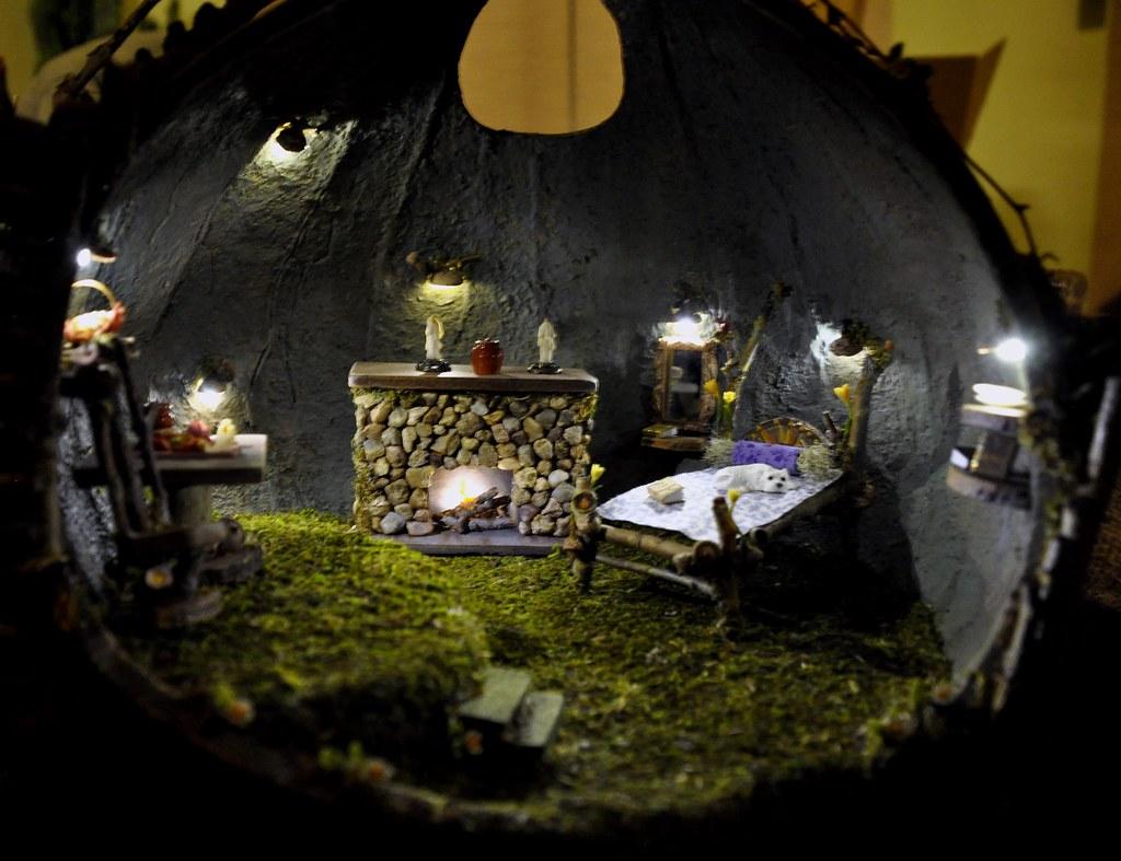 Fairy House at Night |...