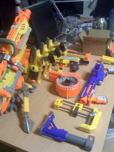 Nerf collection | by David Singleton