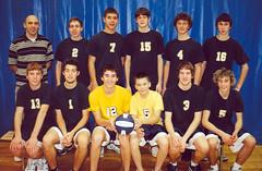 Sr. Boys Volleyball 0405