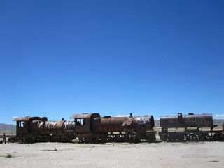 The Great Train Graveyard | by veganbackpacker
